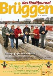 Die Burgi-Spargelsaison ist eröffnet. - Stadtjournal Brüggen