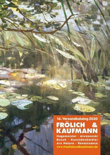 Frölich & Kaufmann 16. Versandkatalog 2020