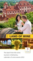 LAND OF WINE - Vína z Moravy, vína z Čech
