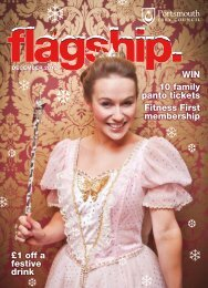Flagship magazine - December 2012 (PDF) - Portsmouth City Council