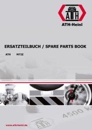 ATH-Heinl ERSATZTEILBUCH SPARE PARTS BOOK M72Z