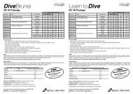 Diving Packages - Royal Brunei Airlines