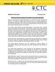 IMMEDIATE RELEASE 12 October 2011 Seven young Bruneians ...