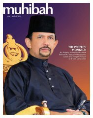 THE PEOPLE'S MONARCH - Royal Brunei Airlines