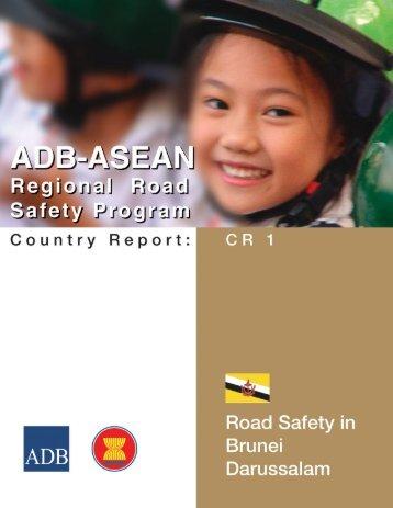 Country Report CR 1: Brunei Darussalam - Asian Development Bank