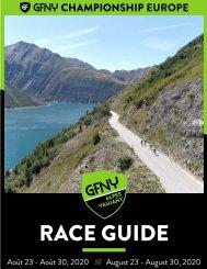GFNY Alpes Vaujany Race Guide 2020