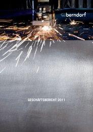 Bericht 2011 als PDF - in der Berndorf AG