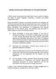 Brunei Darussalam - Bali Process