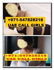INDIAN CALL GIRLS IN SHARJAH $$ (+971)547828218 #INDIAN #ESCORTS IN #SHARJAH,INDIAN ESCORTS SHARJAH