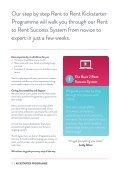 The Rent 2 Rent Kickstarter Programme - Page 6