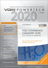 VGB POWERTECH Issue 5 (2020)