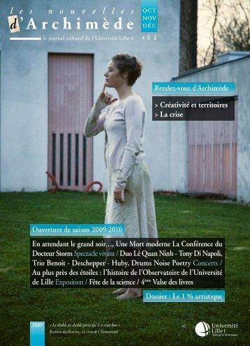 les nouvelles d'Archimède #43 - Espace Culture - Université Lille 1