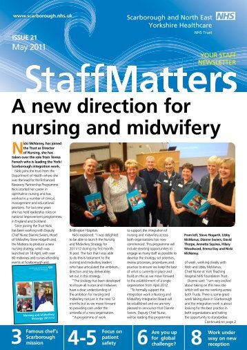 A new direction for nursing and midwifery - Scarborough and North ...