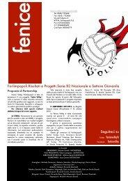 Scarica la versione integrale della Brochure - Fenice Volley