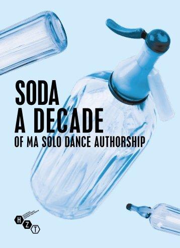 A Decade of MA Solo Dance Authorship