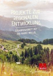 Projekte zur regionalen Entwicklung