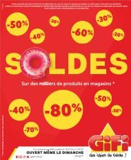 Gifi catalogue 15 juillet-11 aout 2020