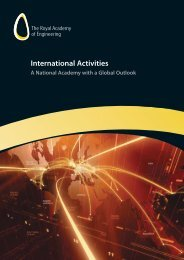International Activities - Royal Academy of Engineering