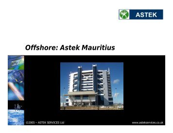 Project Summary: Royal Sun Alliance - Astek Services