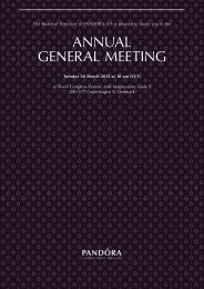 Notice convening the Annual General Meeting. - Shareholder.com