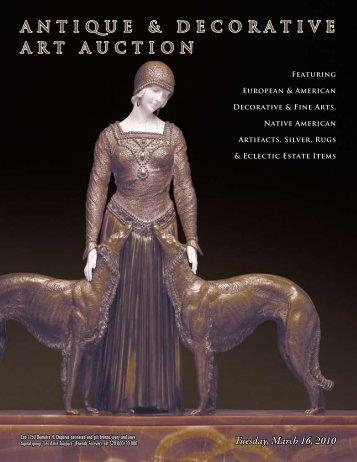 ANTIQUE & DECORATIVE ART AUCTION - John Moran Auctioneers