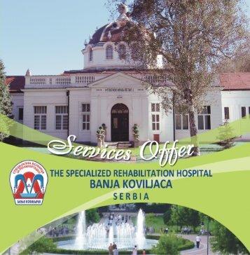 Price list - Banja Koviljaca