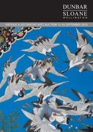Antique & Decorative Arts Auction 15-16 September - Dunbar Sloane
