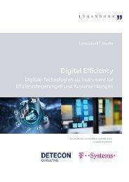 Lünendonk-Studie Digital Efficiency