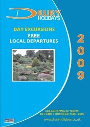 free local departures day excursions celebrating 50 years of family ...