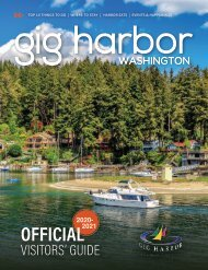 2020-2021 Gig Harbor Visitor's Guide