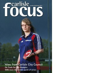 Summer / Autumn 2012 in PDF format - Carlisle City Council