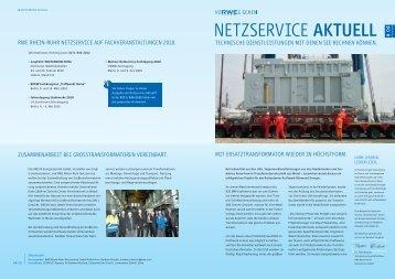 Ausgabe 4, 02/2010 - RWE Rhein-Ruhr Netzservice