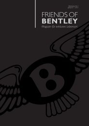 Mediadaten - friends of bentley