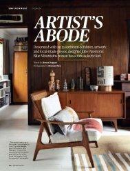 artist's abode - Cloth