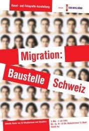 Migration: Baustelle Schweiz - Integration Basel