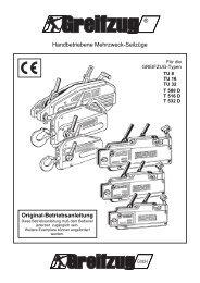 Original-Betriebsanleitung Handbetriebene Mehrzweck-Seilzüge ...