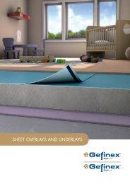 Geficell & Gefitas Sheet Overlays & Underlays