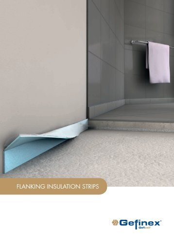 Geficell Flanking Insulation Stripes
