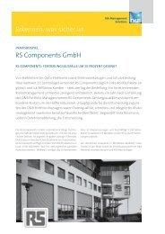 Erkennen, was sicher ist. RS Components GmbH - DnB Germany ...
