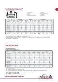 Technische Daten Mechanische Abgasführung - Exodraft - Seite 7