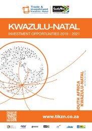 KwaZulu-Natal Investment Opportunities 2019 - 2021