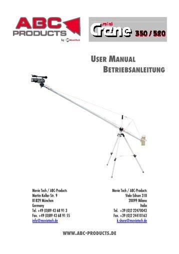 minicrane 350/520 - ABC Products
