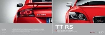 TT RS - Audi
