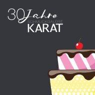30 Jahre Schmuckgalerie KARAT