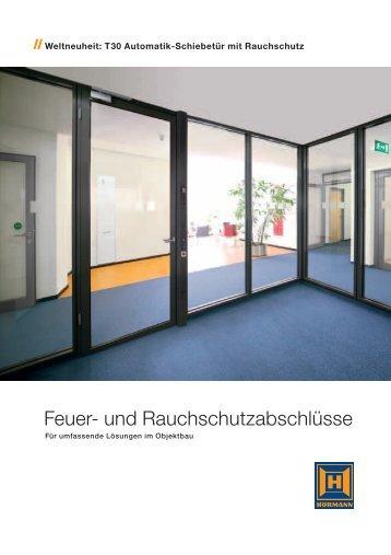 Feuer- und Rauchschutzabschlüsse - Rehberg und Kloos GdbR