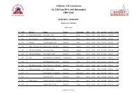 ORC Club 14. Csi-Cup 2011 (mit Spinnaker) - Csi-Yachtcharter