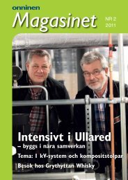 Magasinet 2-2011 - Onninen