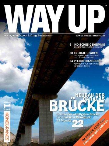WAY UP 1/2008 Neubau der Caracas-Brücke - Konecranes