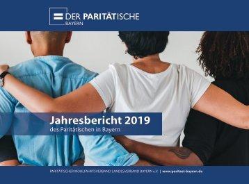 Der Paritätische in Bayern Jahresbericht 2019 (20MB)