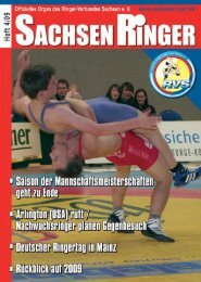 abo@sachsenringer.de - Ringer-Verband Sachsen eV
